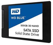 Western Digital Blue 3D 500GB Nand Sata SSD Festplatte (WDS500G2B0A)