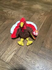 "NEW TY Beanie Baby - ""Gobbles"" The Turkey - 1996 - Retired"