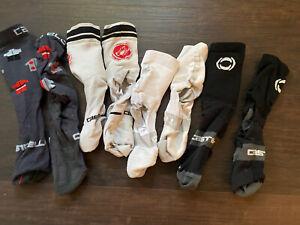 Castelli Cycling Socks lot Large XL pro team summer