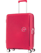 American Tourister Curio 80cm Expandable Spinner Suitcase Pink