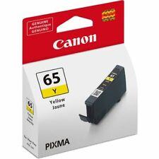Canon CLI-65Y Yellow Ink Cartridge Genuine For Canon PRO-200 Printer