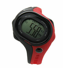 Nike Triax Fury 50 WR0141 012 Black Sport Red Chronograph Mens Digital Watch