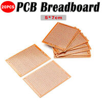 20/40X DIY PCB Universal Prototype Paper Matrix Circuit Board Stripboard 5x7cm
