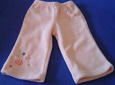 NWT Gymboree Princess Snow Drop Fleece Pants 12-18M