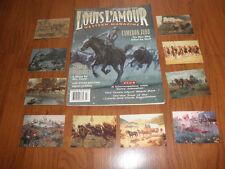 LOUIS L'AMOUR Western Magazine-March1995 plus MORT KUNSTLER Cards