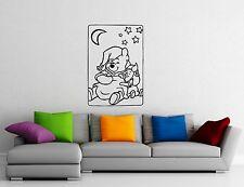 Wall Stickers Vinyl Decal Nursery Baby Room Cartoon Winnie the Pooh (ig1060)