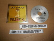 CD Rock Franz K - Jede Sekunde (1 Song) Promo STEPS