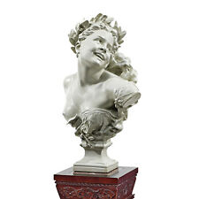 "24"" Paris Opera House Facade Lady of the Dance Home Gallery Bust Sculpture"