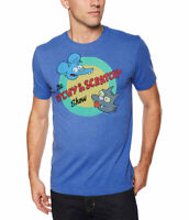 The Simpsons Itchy and Scratchy Show Logo T-Shirt