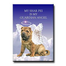 SHAR PEI Guardian Angel FRIDGE MAGNET New DOG