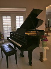 Excellent Yamaha  grand  piano  & Free Steinway stool.