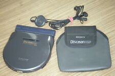 Rare Vintage c1996 Sony Discman model D-777 Portable CD Player - Working