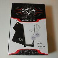 Callaway Pint Glass Gift Set