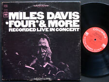 MILES DAVIS Four & More LP COLUMBIA CS 9253 2-EYE Herbie Hancock George Coleman