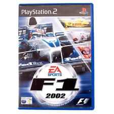 F1 2002 For Sony PlayStation 2 PS2 - Complete - PAL