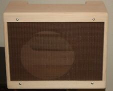rawcabs 1x12 unfinished pine 5E3 combo cabinet with grill fabric installed
