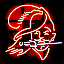 "New Tampa Bay Buccaneers Logo Real Glass Neon Light Sign 24""x20"""