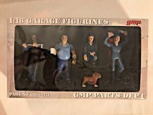 GMP Garage Figurines 1/18 mechanics people bulldog # G1800121 NEW