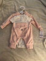 NWT, Baby girl clothes, Preemie, Carter's Little Baby Basics 3 piece set Newborn