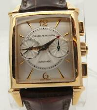 Girard Perregaux Vintage Chronograph 18k Yellow Gold Watch Ref 2599