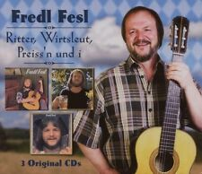 "FREDL FESL ""RITTER WIRTSLEUT PREISS´N UND I"" 3 CD BOX"
