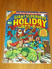 MARVEL TREASURY EDITION #13 VF (8.0) GIANT SUPERHERO HOLIDAY GRAB-BAG 1976 US