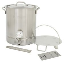 Bayou Classic 10-Gallon Brew Kettle Set, stainless, 40-Quart 800-410 New