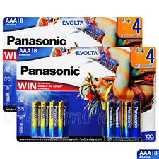 16 x Panasonic Evolta AAA batteries Alkaline 1.5V LR03 AM4 MN2400 Mini Stilo