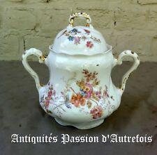 B2018147 - Gros sucrier en porcelaine de Limoges - Très bon état