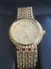 Reliance by Croton Goldtone Ladies Unisex Dress Watch — FREE SHIPPING