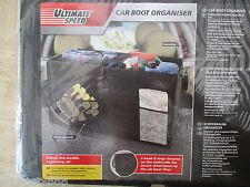 Ultimate Speed Car Boot Organiser Size Approx 65 x 33.5 x 33cm Max Load 13kg