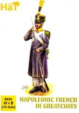 HaT Miniatures 1/72 NAPOLEONIC FRENCH IN GREATCOATS Figure Set