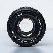 Nikon El-Nikkor 50mm f/2.8N enlarger and macro lens