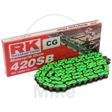 RK STANDARD VERDE 420SB/126 CHAÎNE AGRAFE PEUGEOT 50 XP 6 Supermotard 2008-2011