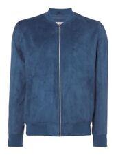 Cappotti e giacche da uomo blu JACK & JONES con cerniera