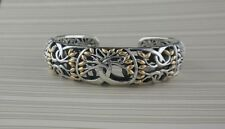 Sterling Silver Celtic Tree of Life Bracelet 18K Gold accents KEITH JACK Jewelry
