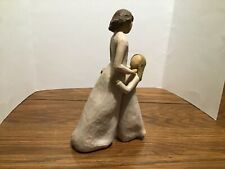 Willow tree figurine, mother and daughter