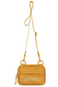 Supreme Small Shoulder Bag Gold SS20 NWT