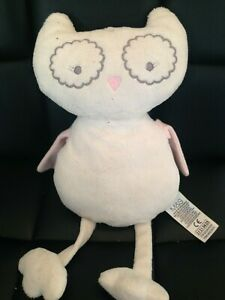 MARKS AND SPENCER WHITE OWL SOFT TOY COMFORTER 12 INCHES LONG