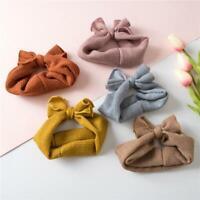 Baby Kids Bow Tie Headband Newborn Elastic Tiara Headwear Children Hair Band