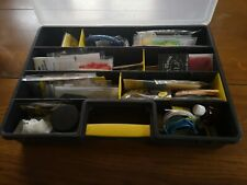Box of Fly Tying Materials