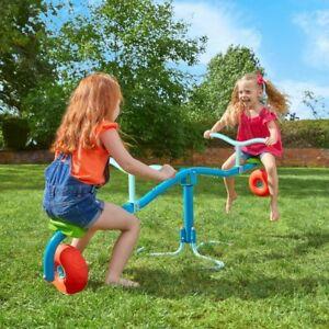Kids TP Spiro Garden Spin Cyclone Swing Soft Wheels Toy Seesaw Cushion Bounce