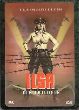 Ilsa Trilogy , 3 Disc - 3D-Holocover Steelbook , 100% uncut , NEW , Region 2