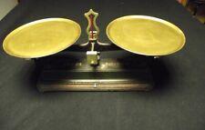 Ancienne balance fonte forgé Roberval  -5 kg - LOFT DECO CUISINE