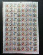 Malaysia Traditional Attire 4 Nation 2015 Costume (sheetlet) MNH *unissued *Rare
