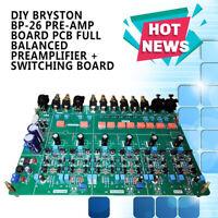 DIY Bryston BP-26 Pre-Amp Board PCB Full Balanced Preamplifier + Switching Board