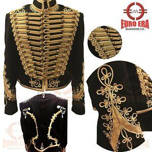 Adam Ant Hussars Military Tunic Jacket , British 11th Hussars Military Jacket