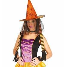 COMIQUE Orange Chapeau de sorcière avec joint Jambes Femmes