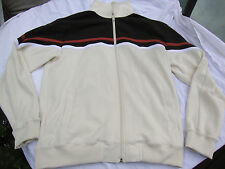 Pineapple Connection Men's Medium Zip Up Jacket Retro-Style Brown Used RN 67225