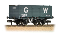 Bachmann 37-087 7 Plank End Door Wagon GWR Grey OO Gauge